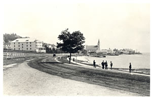 Historic photo from shore road